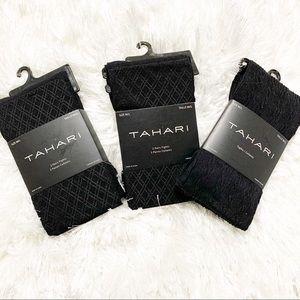 Tahari black tights bundle size M/L